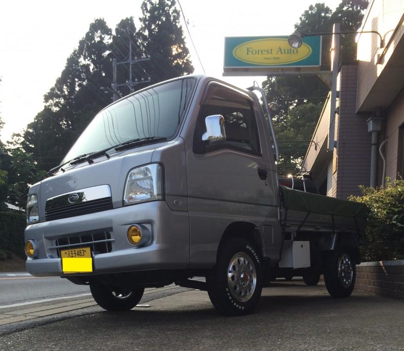 FAFリフトアップスプリング®取り付け スバル サンバー トラック 4WD SC(型式TT2) 東京都 あきる野市 K 様