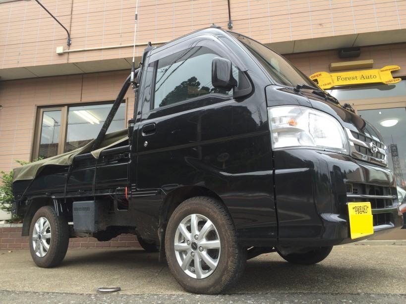 FAFリフトアップキット取り付け ダイハツ ハイゼット トラック 4WD(型式S211P) 栃木県 日光市 S 様